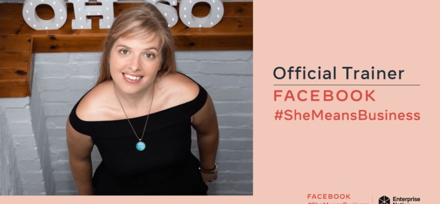 Katherine George - #SheMeansBusiness Official Trainer